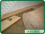 insulating underfloor carpet